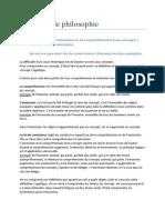 Philosophie - (1ère Bac Psychologie) - Université de Liège - Questions d'examen