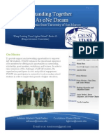 Standing Together as oNe Dream 2011-2012