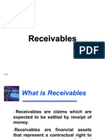 Financial Accounting - Receivables
