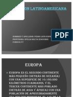 Europa Trabajo de e.p.t