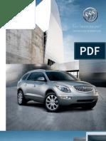 2011 Buick Encalve Alberta - Brochure