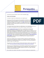 July Perspective Newsletter
