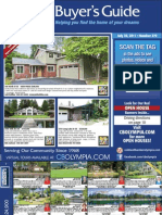 Coldwell Banker Olympia Real Estate Buyers Guide July 30th 2011