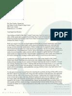 Coastal Conservancy Devils Slide Tunnel Letter 7-27-11