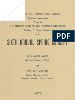 Sixth Annual Spring Tremper Orchestra Concert
