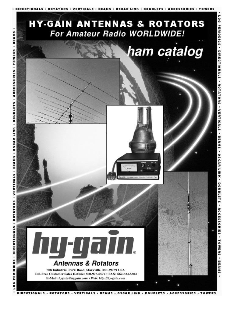 Hygain 2011 Catalog | Electrical Connector | Antenna (Radio)
