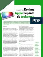 Final Cut Pro X, Koning Apple bepaalt de toekomst