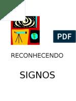 RECONHECENDO SIGNOS