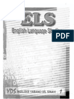 ELS 1( the English Verb Tenses)