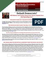 Default Democrats