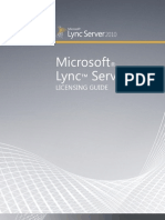 Lync Server 2010 Licensing Reference Guide (1)