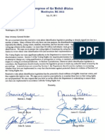 House Voter ID Letter