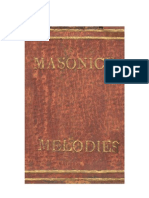 Luke Eastman - Masonic Melodies (1818) (222 Pgs)