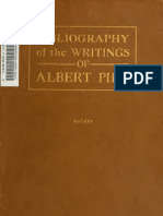 Bibliography of the Writings and Works of Albert Pike (92 Pgs)