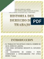 Historia Del Derecho Del Trabajo Completo