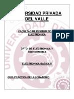 Lab Oratorios de Electronic A Basica II
