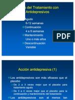 G. Fases Del Tratamiento Antidepresivo