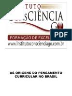 Origens Do Curriculo No Brasil