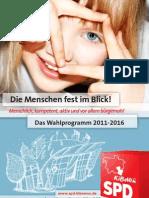 Programm des Ortsvereins Kirchrode-Bemerode-Wülferode 2011 - 2016
