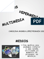 Medios HiPerMedia Multimedia