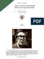 Musica Concreta y Filosofia Contemporanea Registros Polifonicos de John Cage a Peter Sloterdijk