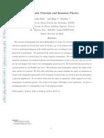Holographic Principle and Quantum Physics