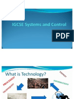 IGCSE Systems and Control Presentation