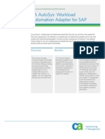 Autosys Adaptor Sap Product Brief