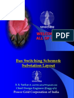 Bus Swicthing Scheme & Substation Layout - Kksarkar