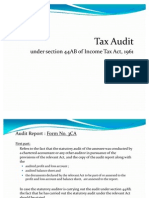 Tax Audit - Sec.44ab (Ppt)