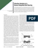ASME Vibration Analysis Bearing