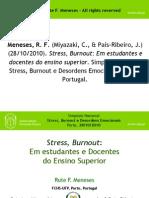 SCRIBD Apresentacao Oral Simp Nac Stress Burnout Desordens Emocionais RFM