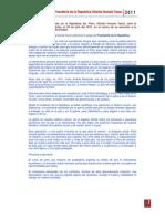 Discurso Presidente Peru 28-07-2011