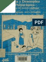 Berta Teitelboim - Pobreza y Desempleo en Poblaciones La Otra Cara Del Modelo Neoliberal