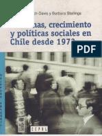 Ffrench-Davis y Stallings - Reformas, crecimiento y pólíticas sociales en Chile desde 1973.