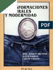 José Brunner et ál... - Chile. Transformaciones culturales y modernidad