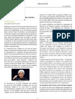 25 mai 2011 Christine Lagarde a fait échec à la loi, dénonce le procureur Nadal