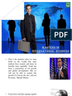 Master of International Business