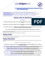 Piping Codes & Standards