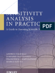 Wiley - Sensitivity Analysis in Practice_ a Guide to Assessing Scientific Models Saltelli Et Al., 2004)