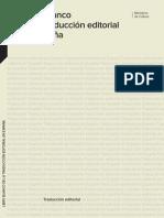 Libro Blanco de la traducción editorial 2010