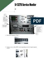 Motorola S-1327B Service Monitor