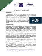 Mini Refinery Feasibility Study