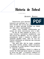 Revista do instituto Historico do Ceará -1931-Para a Historia de Sobral