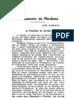 Revista do Instituto Histórico do Ceará de 1939-Povoamento do Nordeste - Familias do Seridó