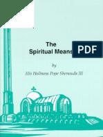 Spiritual Means