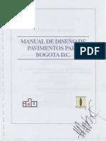 Diseño Racional de Pavimentos IDU 1