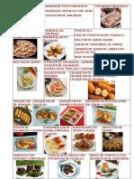 Recetas de aperitivos
