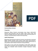 Gendang Melayu Sarawak Bm