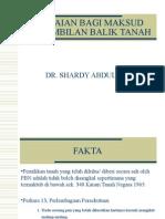 Penilaian Bagi Maksud Pengambilan Balik Tanah1(1)